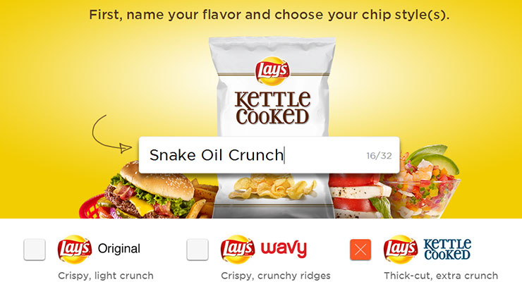 Lay's Viral Marketing Done Right: DoUsAFlavor.com