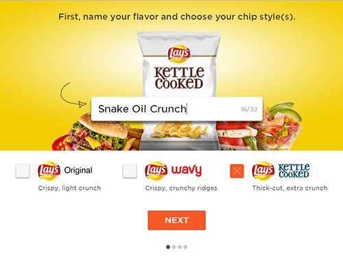 lays viral marketing name chip