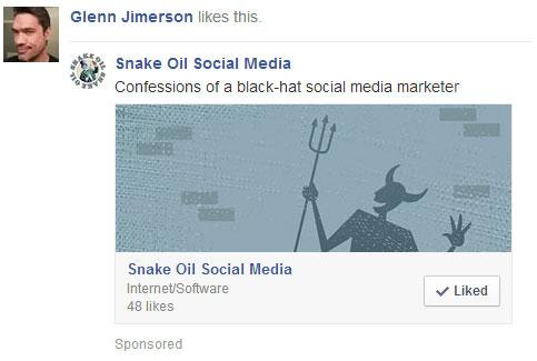 facebook ads experiment ad #!